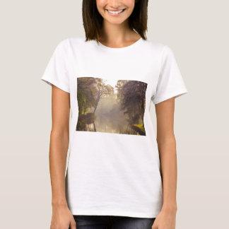 Brügge-Fluss-Malerei T-Shirt