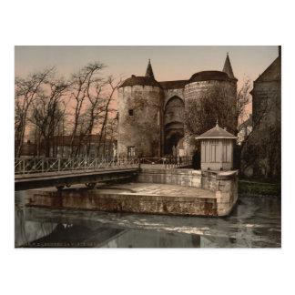 Brügge- - Gent-Tor, Belgien Postkarte