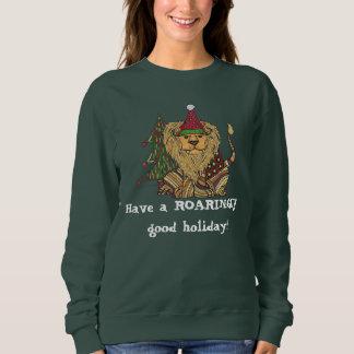 BRÜLLEN Sie in die Feiertage! Sweatshirt