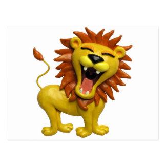 Brüllender Löwe Postkarte