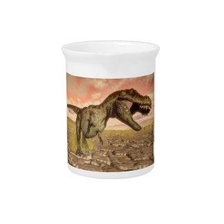 Brüllender Tyrannosaurus rex Dinosaurier Getränke Pitcher