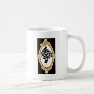 Brüllenzwanziger jahre Mode Kaffeetasse