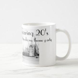Brüllenzwanziger jahre Speakeasyzwanziger jahre Kaffeetasse