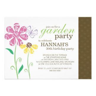Brunch-Garten-Party-Geburtstags-Einladungen