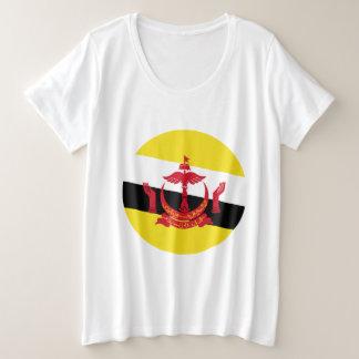 Brunei-Flagge Große Größe T-Shirt