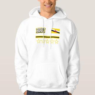 Brunei-Flagge Hoodie