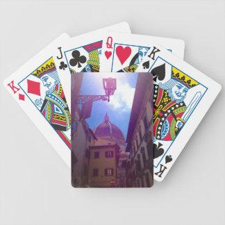 Brunelleschi Haube in Florenz, Italien Bicycle Spielkarten