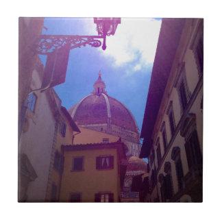 Brunelleschi Haube in Florenz, Italien Fliese