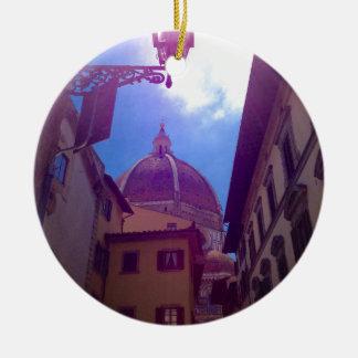 Brunelleschi Haube in Florenz, Italien Keramik Ornament