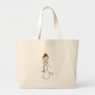 Brünette Braut-Tasche