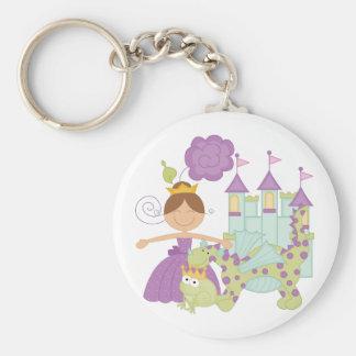 Brünette Prinzessin Schlüsselanhänger