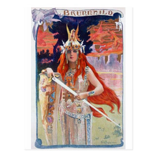 Brunhilde Postkarte