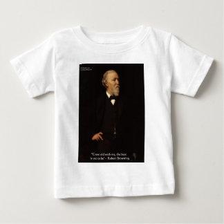 """Brünierender Robert """"wachsen alte"""" Baby T-shirt"""