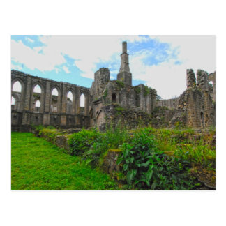 Brunnen-Abtei 3 Postkarte