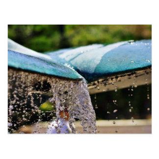 Brunnen am Birken-Aquarium in La Jolla Postkarte