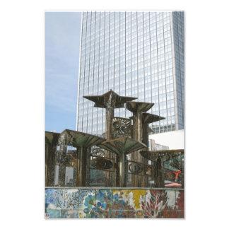 Brunnen der internationalen Freundschaft in Berlin Photo Drucke