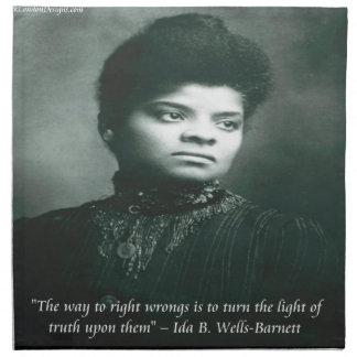 Brunnen IDA B u. Wahrheits-Zitat Serviette
