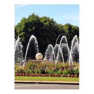 Brunnen, Leon, auf EL Camino Postkarte