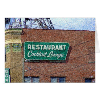 Brunnen-quadratische Bar Indianapolis, HEREIN Karte