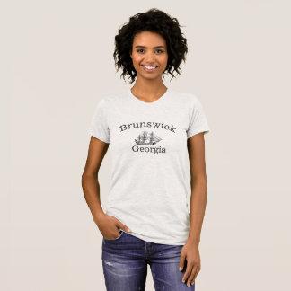 Brunswick hohes Georgia versenden T - Shirt für