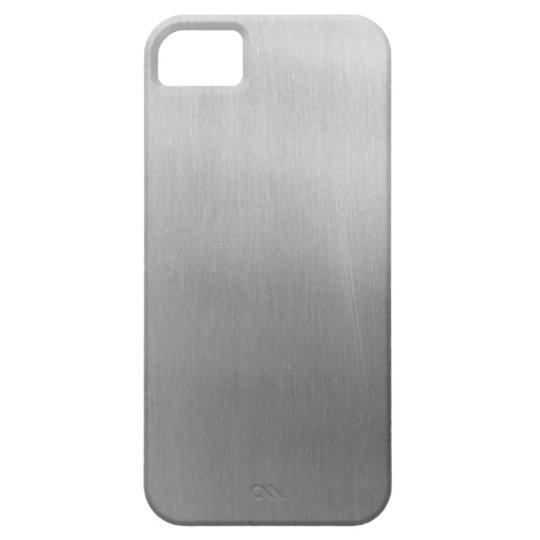 Brushed steel iPhone 5 etui