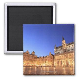 Brüssel, Belgien 2 Quadratischer Magnet