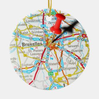 Brüssel, Brüssel, Brüssel in Belgien Keramik Ornament