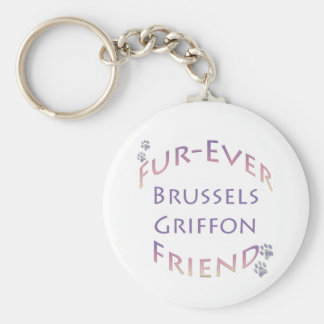 Brüssel Griffon Furever Schlüsselanhänger