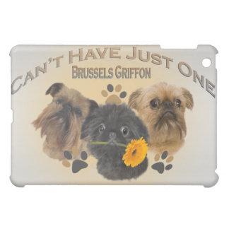 Brüssel Griffon kann gerade einen IPAD FALL nicht iPad Mini Hülle