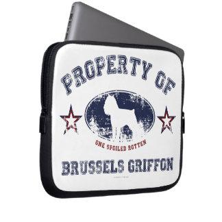 Brüssel Griffon Laptopschutzhülle