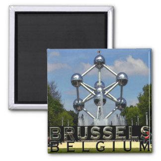 Brüssel Quadratischer Magnet