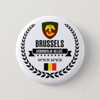 Brüssel Runder Button 5,7 Cm
