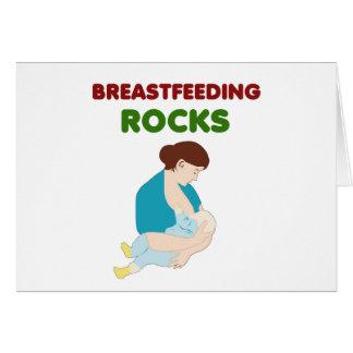 Brust-Füttern der Mammafelsen Karte