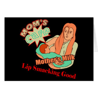 Brust-Füttern der T - Shirts und der Geschenke für Karte