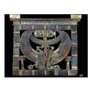 Brust Ramesses II neuen Königreiches Postkarte