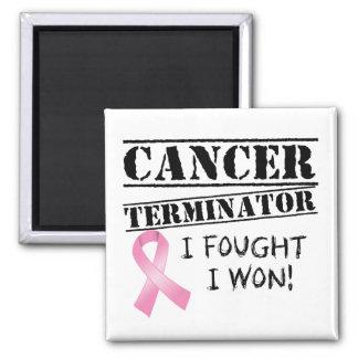 Brustkrebs-Abschlussprogramm Quadratischer Magnet