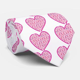Brustkrebs-Bewusstsein Krawatte