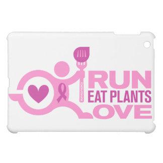 Brustkrebs-Bewusstsein - Lauf+Essen Sie iPad Mini Hülle