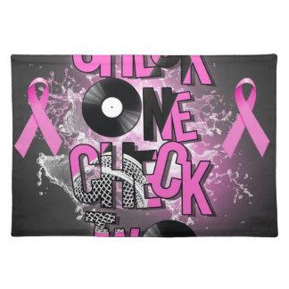 Brustkrebs-Bewusstsein Tischset