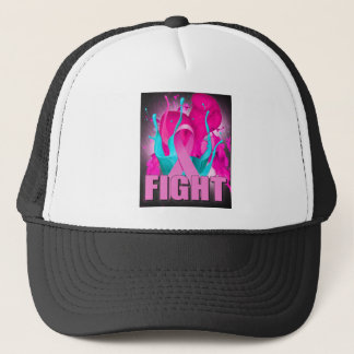 Brustkrebs-Bewusstsein Truckerkappe