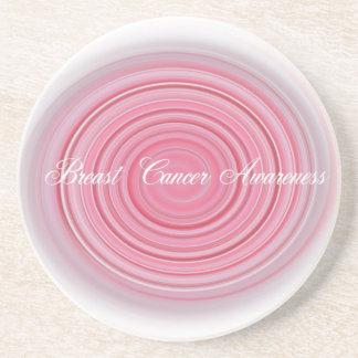Brustkrebs-Bewusstsein Untersetzer