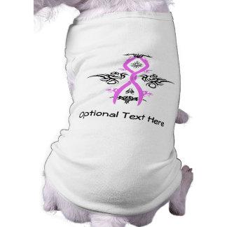 Brustkrebs-Bewusstseins-Stammes- Entwurf T-Shirt