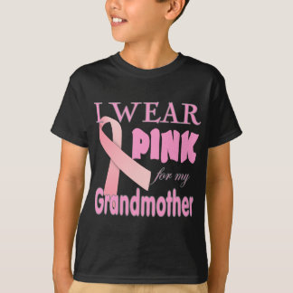 Brustkrebs Bewusstseins-T-Shirts für Großmutter T-Shirt