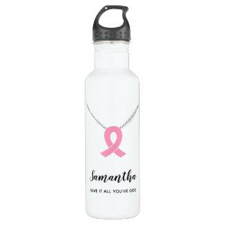 Brustkrebs-Bewusstseins-Wasser-Flasche, Edelstahlflasche