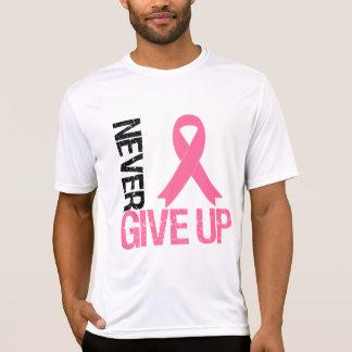 Brustkrebs geben nie auf shirt