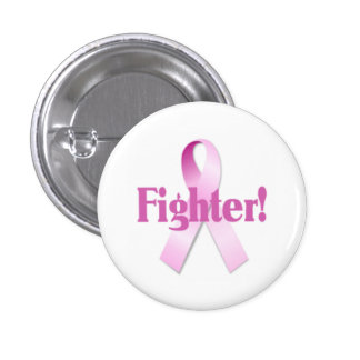Brustkrebs-Kämpfer-Knopf Runder Button 3,2 Cm