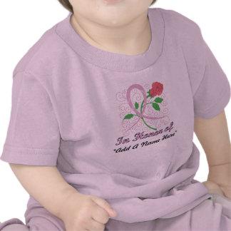 Brustkrebs-kundengerechter Säuglings-T - Shirt