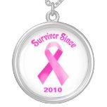Brustkrebs Schleifen-Halskette