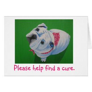 Brustkrebs, Stierhund Karte