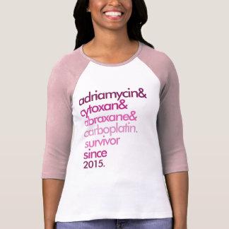 Brustkrebs-Überlebend-Shirt kundengerechtes T-Shirt
